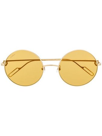Cartier round-shape Sunglasses