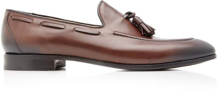 Doughton Tasseled Leather Loafers