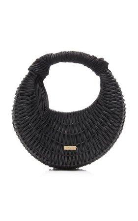 Taja Mini Rattan Top Handle Bag By Cult Gaia | Moda Operandi