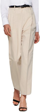 Max Cotton Blend Tapered Trousers