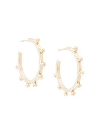 Isabel Marant OH Hoop Earrings - Farfetch