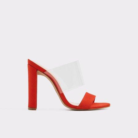 Fulmer Orange Women's Heeled sandals | Aldoshoes.com US