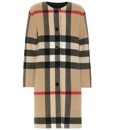 Burberry - Wool-blend coat | Mytheresa
