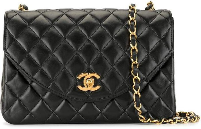 Pre-Owned 2010 diamond quilted shoulder bag