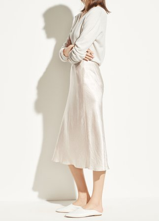 Satin Slip Skirt for Women | Vince