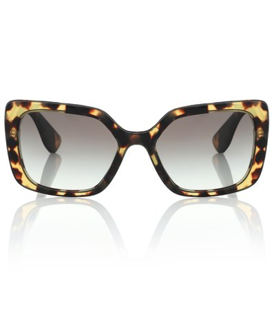 Miu Miu, Square acetate sunglasses
