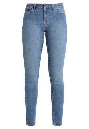 Vero Moda VMSEVEN - Jeans Skinny Fit - medium blue denim - Zalando.co.uk