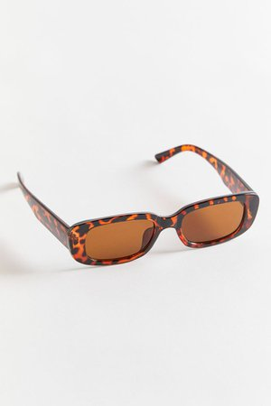 Clyde Chunky Rectangle Sunglasses | Urban Outfitters