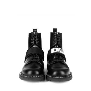 valentino garavani always military boots