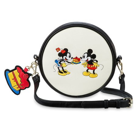 Mickey and Minnie Mouse Crossbody Bag by Loungefly | shopDisney