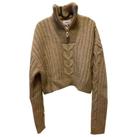 Wool jumper Nanushka Beige size M International in Wool - 8904505