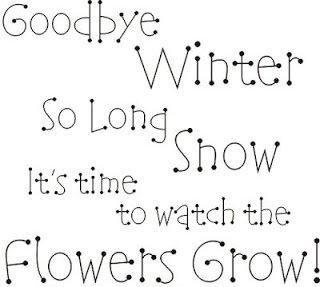 ENGLISH FUN&FAN CLUB: GOODBYE WINTER, HELLO SPRING