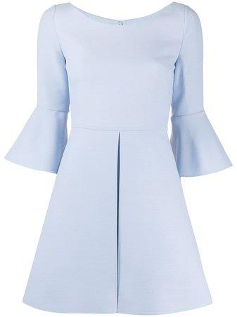 Valentino Flared Sleeves Mini Dress - Farfetch