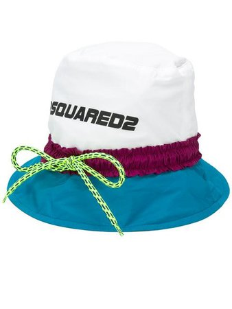 Dsquared2 colour block bucket hat $290 - Shop SS19 Online - Fast Delivery, Price