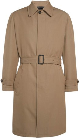 Brioni Belted Trench Coat
