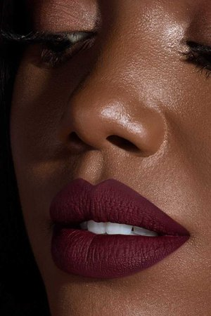 Dark Red Lip