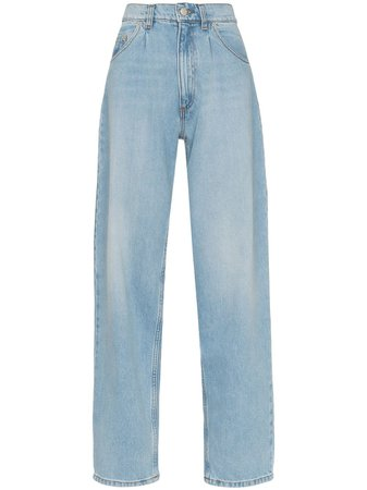 Magda Butrym Grangeville wide-leg jeans $373 - Buy Online - Mobile Friendly, Fast Delivery, Price
