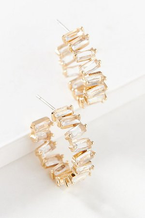 Valerie Huggie Hoop Earrings | Anthropologie
