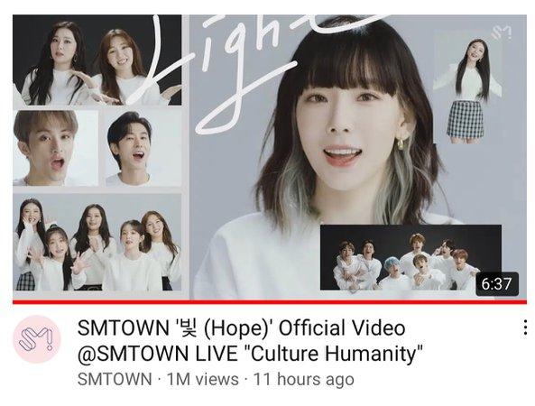 "SMTOWN ""Hope"" MV"