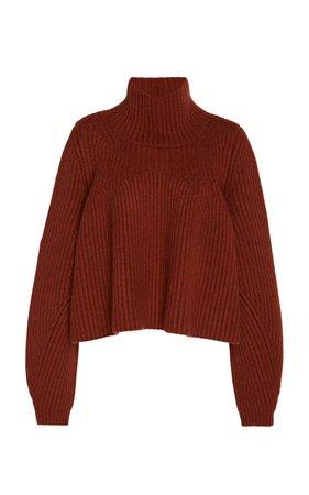 Denney Cashmere Turtleneck Sweater by Khaite | Moda Operandi