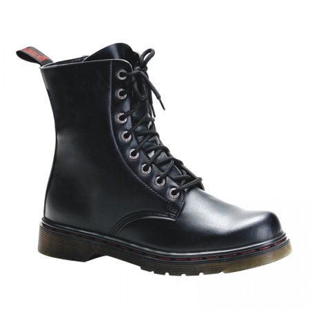 Defiant Mens Combat Ankle Boot at ShoeOodles Shoes for Women, Men and Children, Oodles