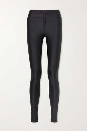 Black Yoga stretch leggings   The Upside   NET-A-PORTER