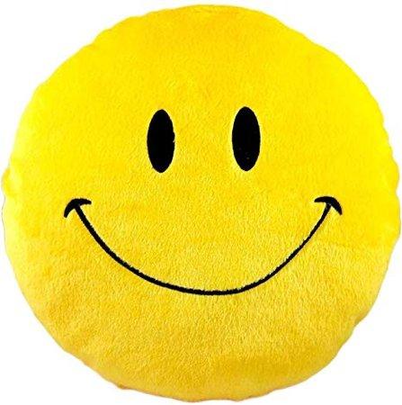 smiley face pillow