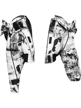 B&W newspaper jacket