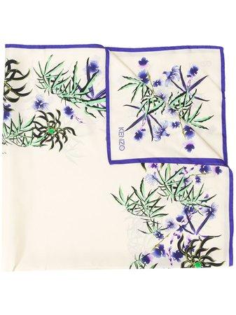 Kenzo Floral Print Scarf - Farfetch