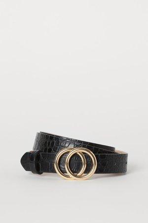 Narrow Belt - Black