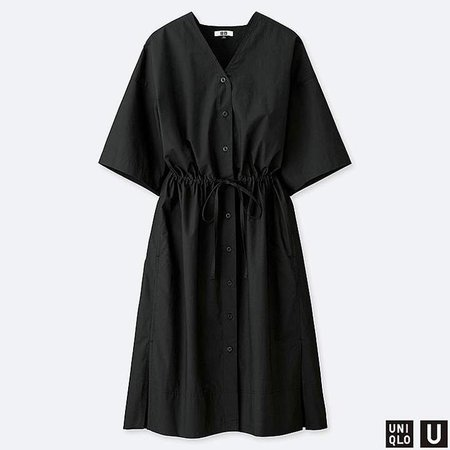Women's U Shirt Short-sleeve Dress