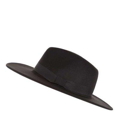 Black Fedora Hat | New Look
