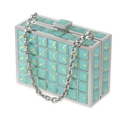 Judith Leiber: mint purse