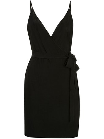 L'Agence Tate Wrap Dress - Farfetch