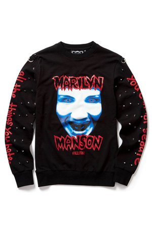 All The Things You Hate Sweatshirt - KILLSTAR x Marilyn Manson