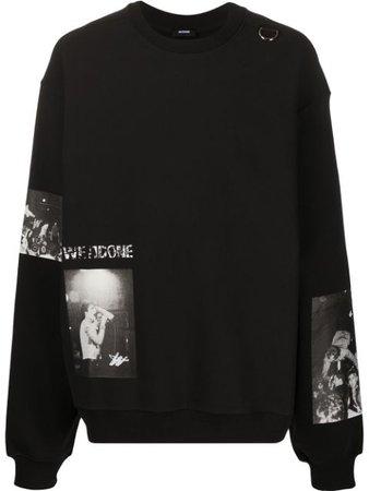 We11done Camisa Oversize Con Motivo Fotográfico - Farfetch