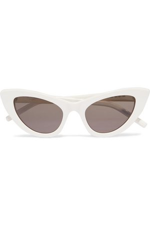 SAINT LAURENT New Wave Lily cat-eye acetate sunglasses