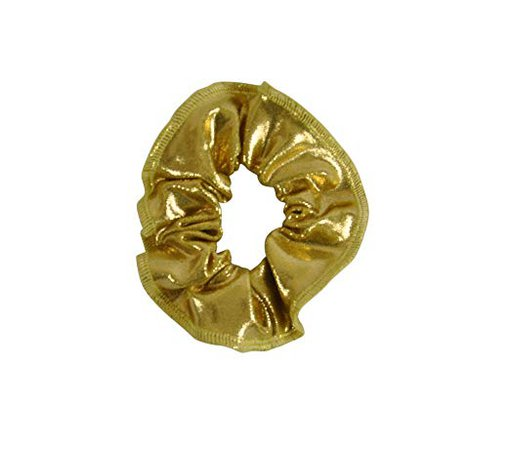 Amazon.com: Obersee Kids Hair Tie Scrunchie, Gold, One Size: Baby