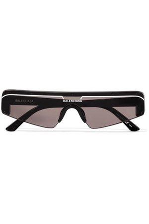 Balenciaga   Ski D-frame acetate sunglasses   NET-A-PORTER.COM