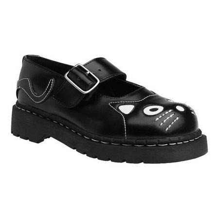 T.U.K. Original Footwear Women's Anarchic Kitty Mary Jane