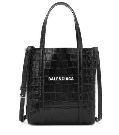 Everyday Xxs Leather Tote - Balenciaga | Mytheresa