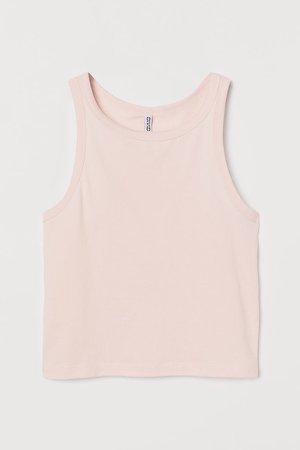 Cotton Tank Top - Pink
