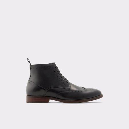 Aldo Black Dress Boots