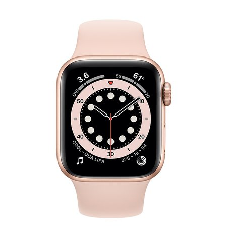 Gold Aluminum Case with SportBand - Apple Watch Series 6