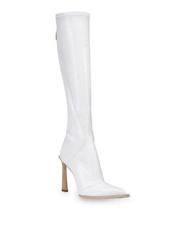 Fendi FFrame Pointed Toe Boots - Farfetch