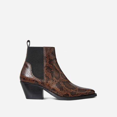 Women's Western Boot | Everlane brown