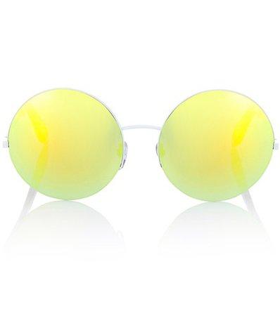 Supra mirrored round sunglasses