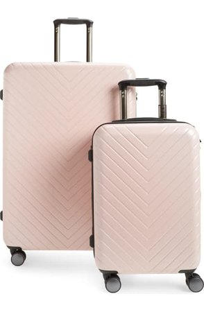 Nordstrom Chevron 29-Inch & 18-Inch Spinner Luggage Set ($368 Value) | Nordstrom