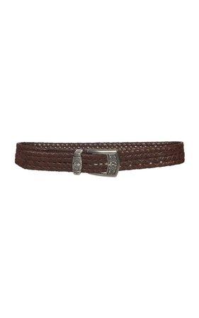 Woven Leather Belt by Etro | Moda Operandi