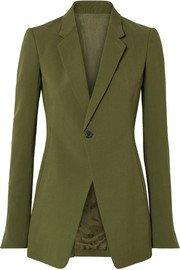 Y/PROJECT | Oversized plaid twill blazer | NET-A-PORTER.COM
